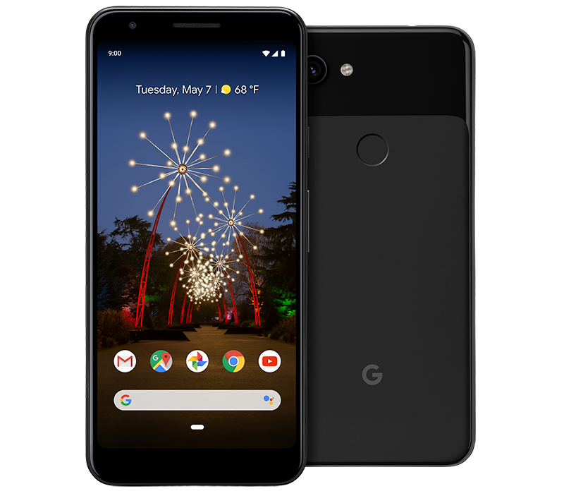 Black Pixel 3a and 3a XL